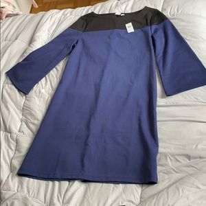 NWT - GAP color block dress